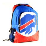Buffalo Bills Backpack, Red, White & Blue